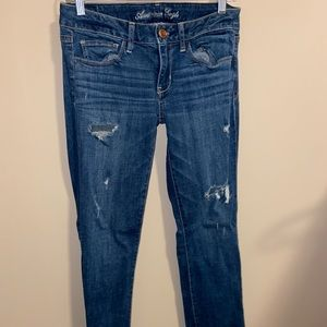 Size 6 American Eagle Ripped Jeans